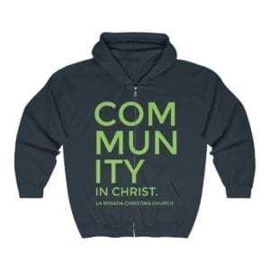 Community in Christ Unisex Heavy Blend™ Full Zip Hooded Sweatshirt