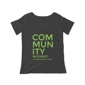 Community in Christ Women's Scoop Neck T-shirt